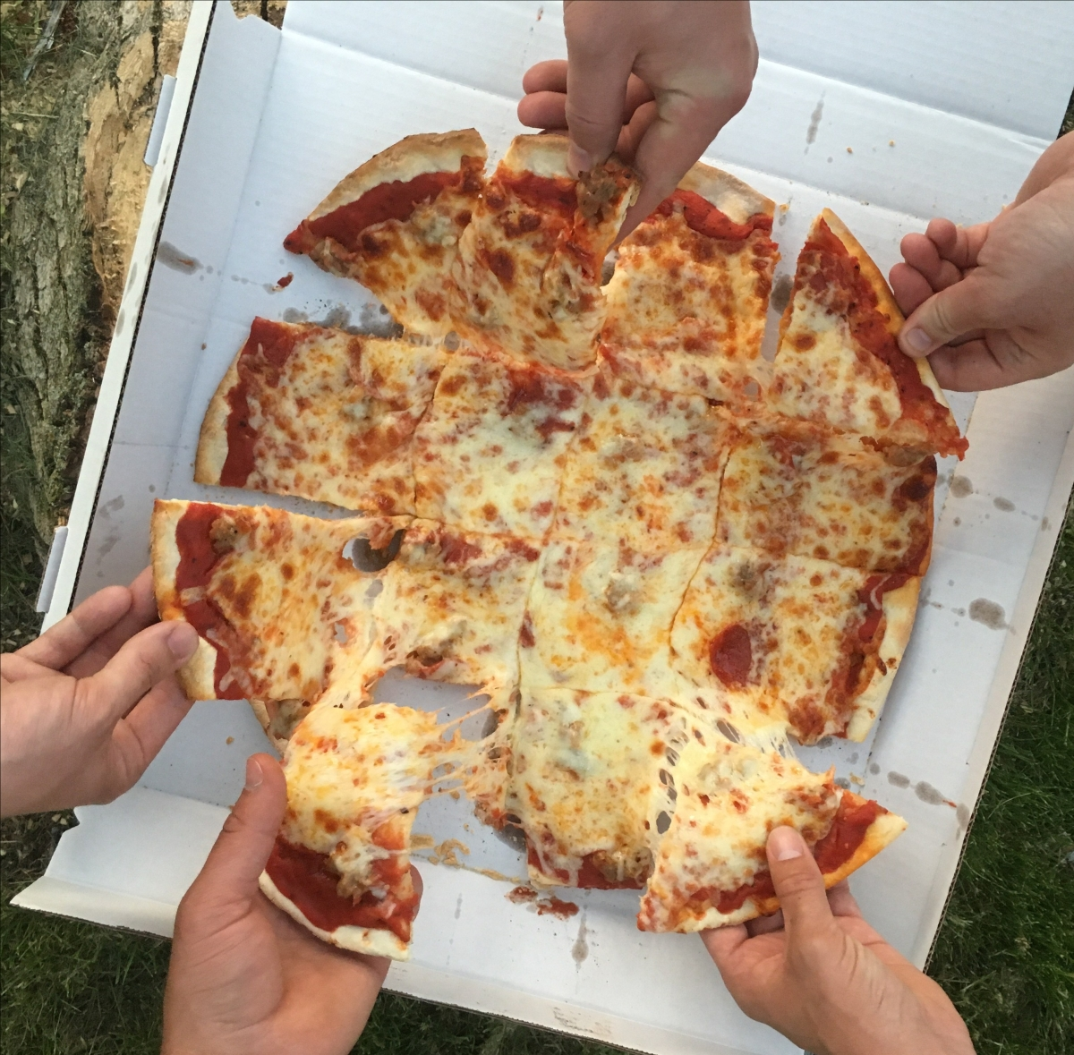 If You Love Pizza, Give it Away.