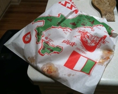 pizza in a bag