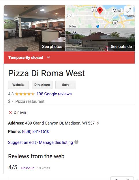 Pizza FOMO